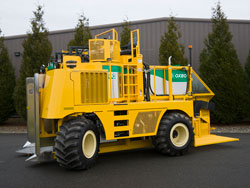 Oxbo 8000 Blueberry Harvester