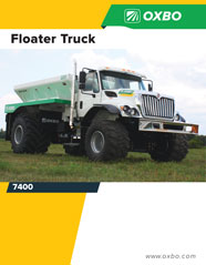 Oxbo 7400 Floater brochure