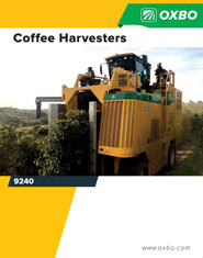 Oxbo 9240 Coffee brochure