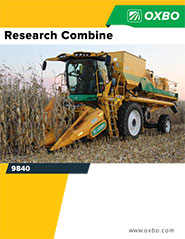 Oxbo 9840 Research Plot Combine