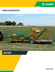Oxbo BH100 Green Bean Harvester