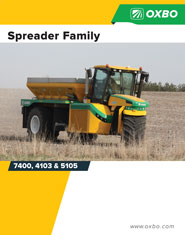 Oxbo Spreader Family brochure