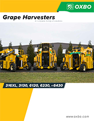 Oxbo's line of Vineyard Equipment and Grape Harvesters
