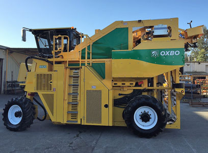 Feature and benefits of the Oxbo 6430 Olive harvester