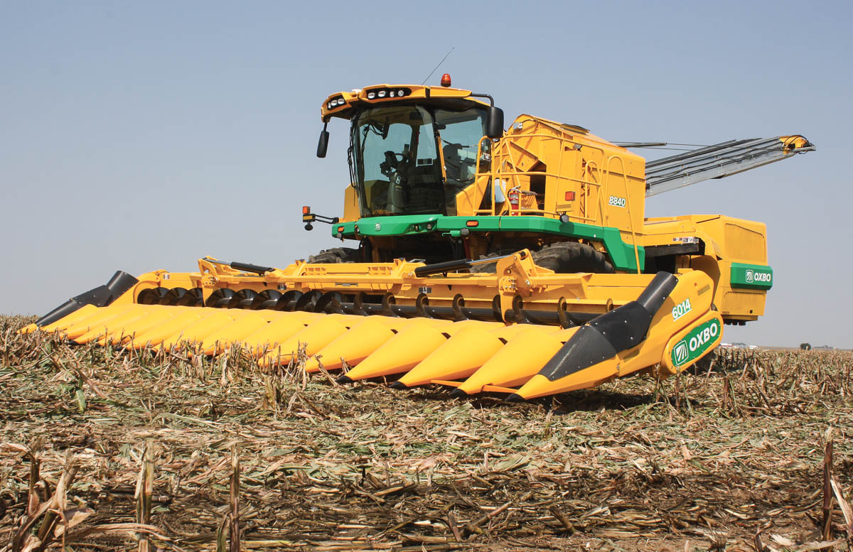 Oxbo 60-Series Seed Corn Harvester Head Features and Benefits