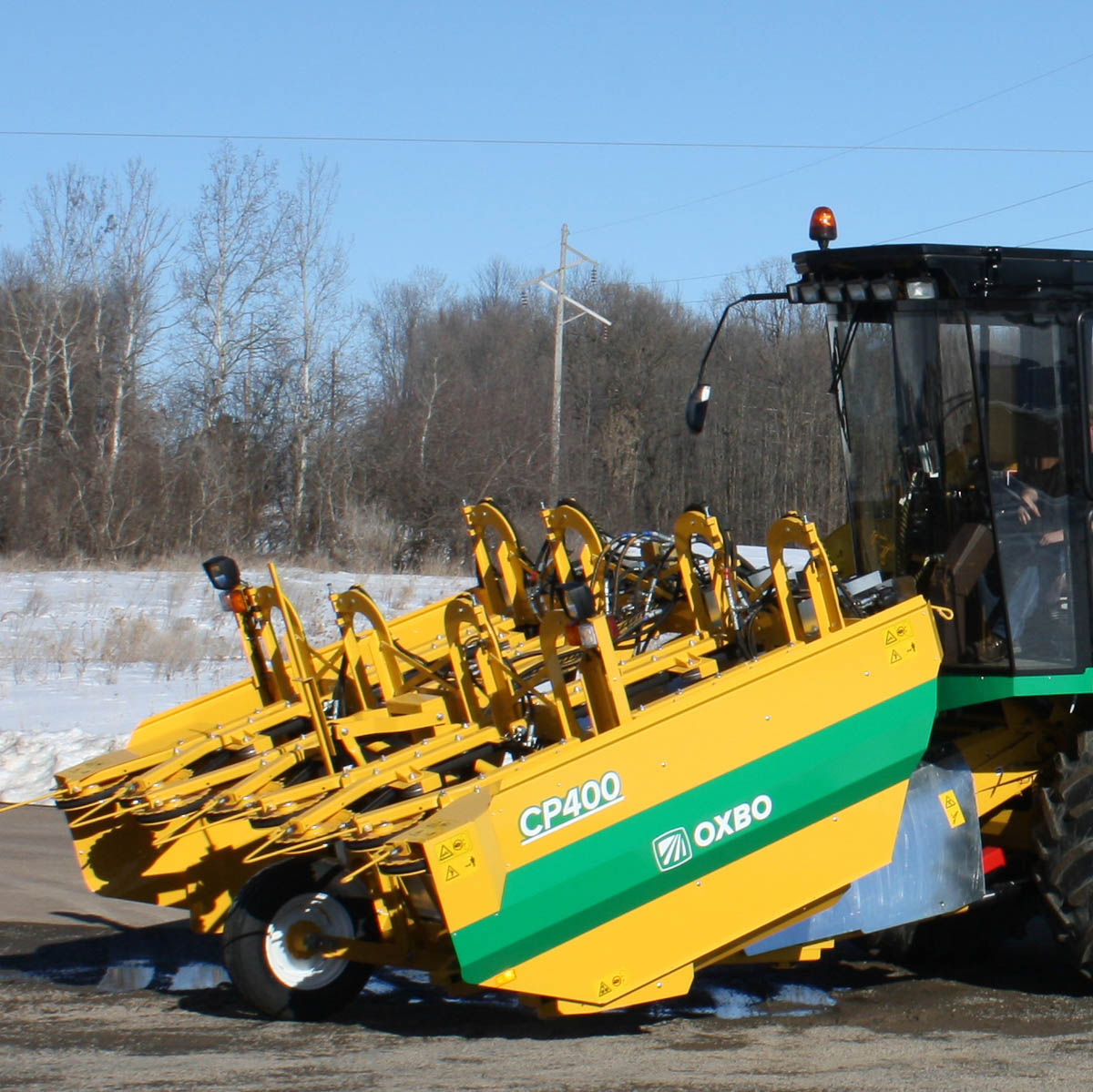 Oxbo CP400 Sweet Corn Picking System