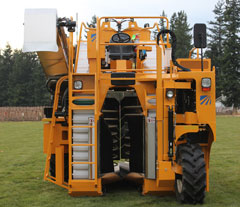 Oxbo grape harvester, 3016XL