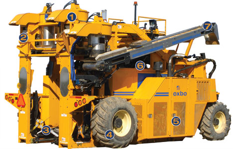 Oxbo 6220 trunk shaker features and benefits