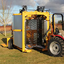 Oxbo 930 Blueberry Harvester