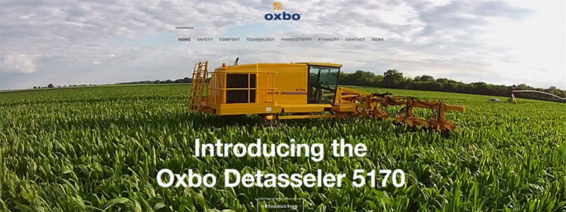 Introducing the Oxbo 5170 Detasseler
