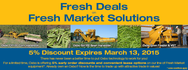 Oxbo Fresh Market Promotion
