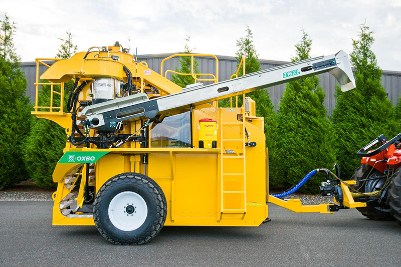 Oxbo 316XL Tow Grape Harvester Features and Benefits
