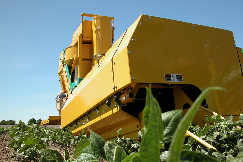 Oxbo BH100 One-Row Bean Harvester