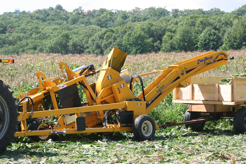 Oxbo CP100 Sweet Corn Harvester