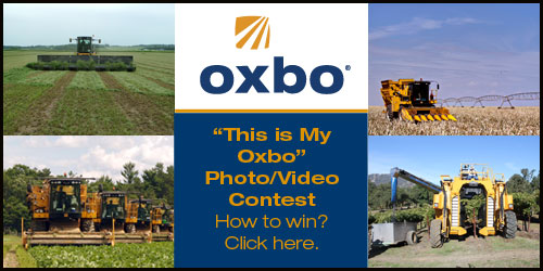 This is my Oxbo Facebook contest